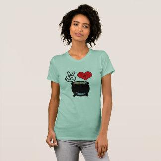 Peace, Love, & Gumbo T-Shirt