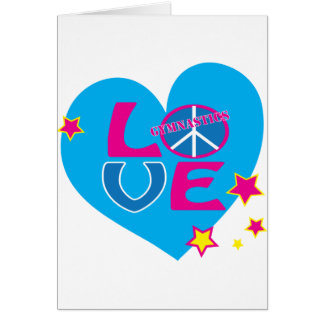 Peace Love Gymnastics Apparel and Gifts Cards