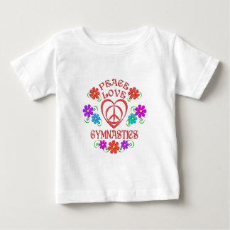 Peace Love Gymnastics Baby T-Shirt