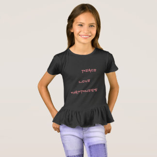 peace love #happiness T-Shirt