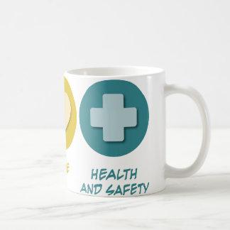 Peace Love Health and Safety Coffee Mug