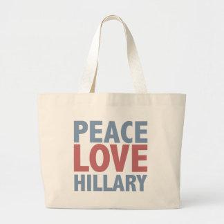Peace Love Hillary Bag