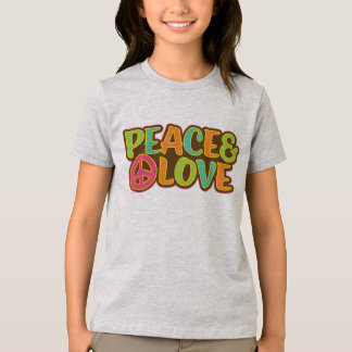 Peace & Love Hippie T-Shirt