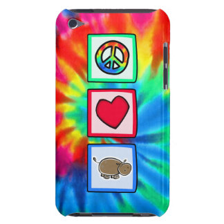 Peace, Love, Hippos Barely There iPod Case