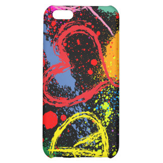 Peace Love Hope Paint Splatter iPhone 5C Covers