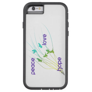 Peace Love Hope phone case