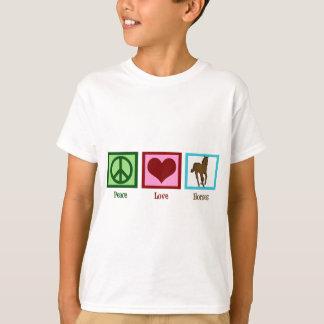 Peace Love Horses T-Shirt