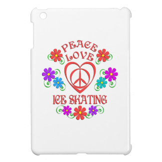 Peace Love Ice Skating Case For The iPad Mini