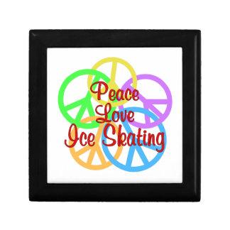 Peace Love Ice Skating Gift Box
