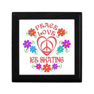 Peace Love Ice Skating Gift Box