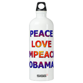 Peace Love Impeach Obama SIGG Traveller 1.0L Water Bottle