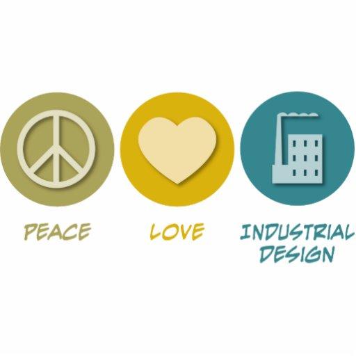 Peace Love Industrial Design Cut Out