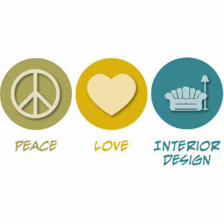 Peace Love Interior Design Photo Cutout