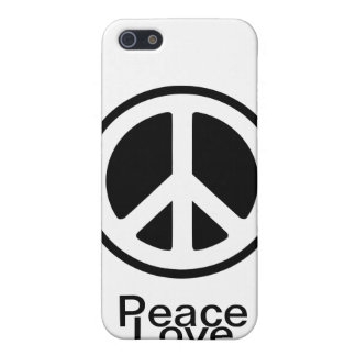 Peace Love :) iPhone 5/5S Covers
