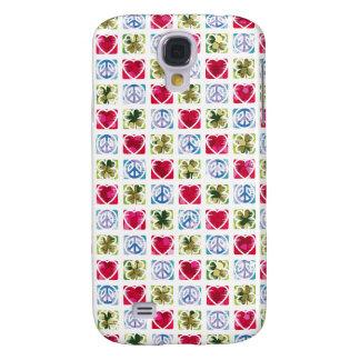 Peace Love & Irish Luck Galaxy S4 Cases