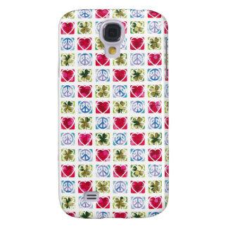 Peace Love & Irish Luck Galaxy S4 Cases