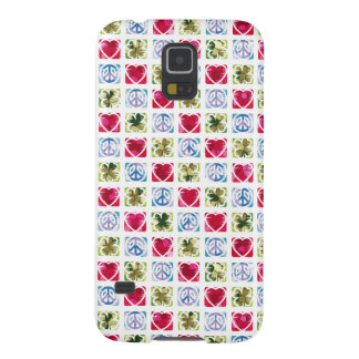 Peace Love & Irish Luck Galaxy S5 Case