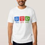 peace love islam (hor) t shirt