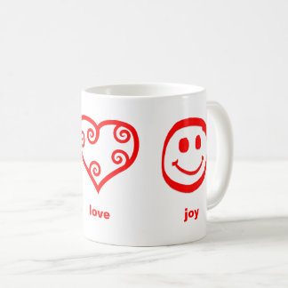 Peace Love Joy - Mug