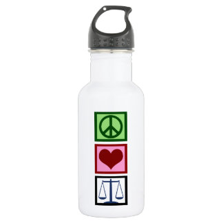 Peace Love Justice 532 Ml Water Bottle