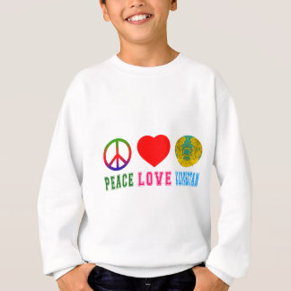 Peace Love Kazakhstan Sweatshirt