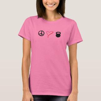 Peace Love Kettlebells T-Shirt