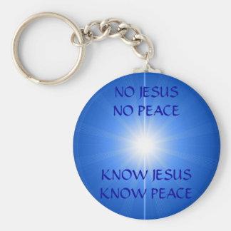 PEACE & LOVE KEY RING