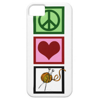 Peace Love Knit Case For The iPhone 5