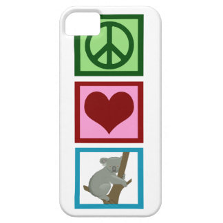 Peace Love Koalas Case For The iPhone 5