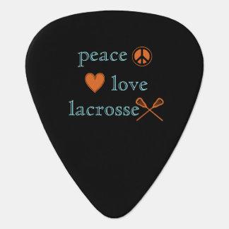 Peace Love Lacrosse Plectrum