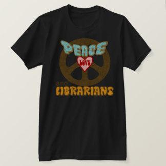 Peace Love Librarians T-Shirt