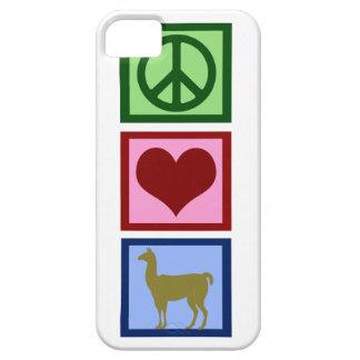 Peace Love Llamas iPhone 5 Covers
