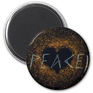 peace-love magnet