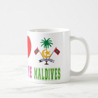 Peace Love Maldives Coffee Mug