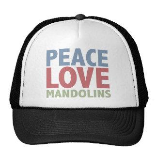 Peace Love Mandolins Cap