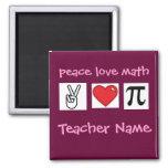 Peace Love Math Custom Math Teacher          ...