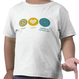 Peace Love Medical Technology Tshirts