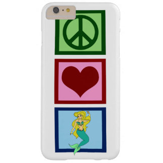 Peace Love Mermaids Barely There iPhone 6 Plus Case