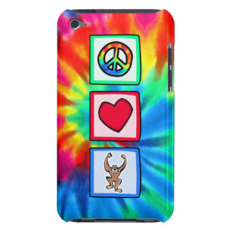 Peace, Love, Monkeys iPod Touch Case-Mate Case
