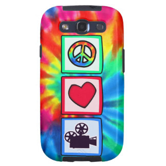 Peace Love Movies Galaxy SIII Cover