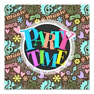 Peace, Love, Music Card