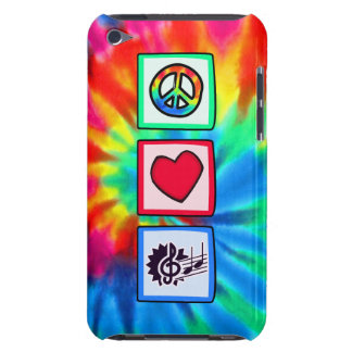Peace, Love, Music Case-Mate iPod Touch Case