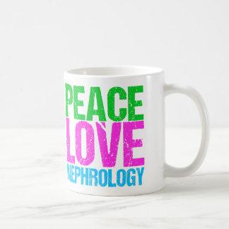 Peace Love Nephrology Coffee Mug