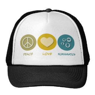 Peace Love Numismatics Cap