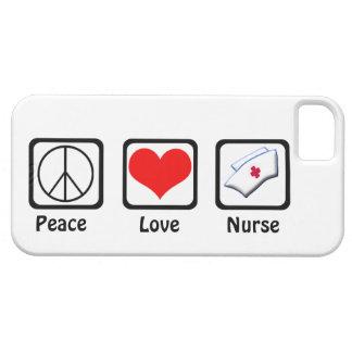 Peace, Love, Nurse-Symbols iPhone 5 Cover
