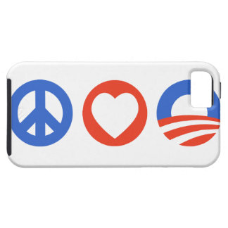 Peace Love Obama Case For The iPhone 5