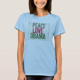 Peace Love OBAMA Long Sleeve T-Shirt