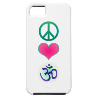 Peace, love, om Iphone5 case