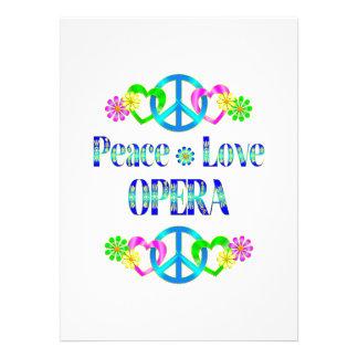 Peace Love Opera Invite