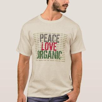 Peace Love ORGANIC Eco Minded T-Shirt